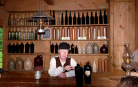 Village Historique Acadien - the historic liquor store