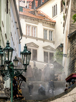 Prague: A Movie Shoot